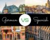German vs Spanish